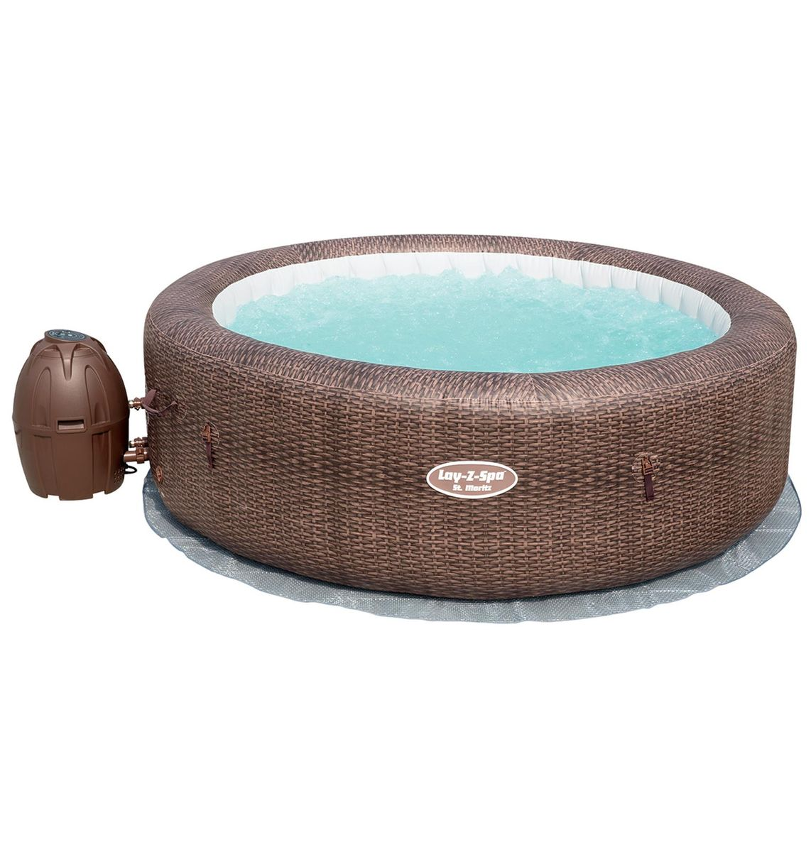 SPA GONFLABLE BESTWAY LAY-Z-SPA ST MORITZ 5-7 pers