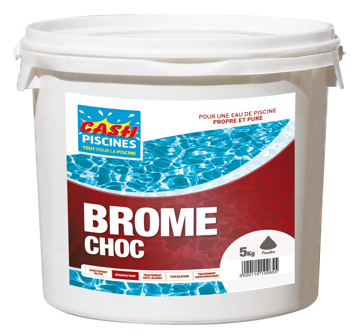 brome choc 5kg cash piscines. Black Bedroom Furniture Sets. Home Design Ideas