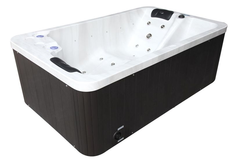 Spa sanway 2 places 210x130x74 tacoma cash piscines for Spa cash piscine