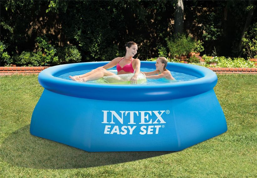 piscinette intex easy set 2 44x0 76 cash piscines. Black Bedroom Furniture Sets. Home Design Ideas