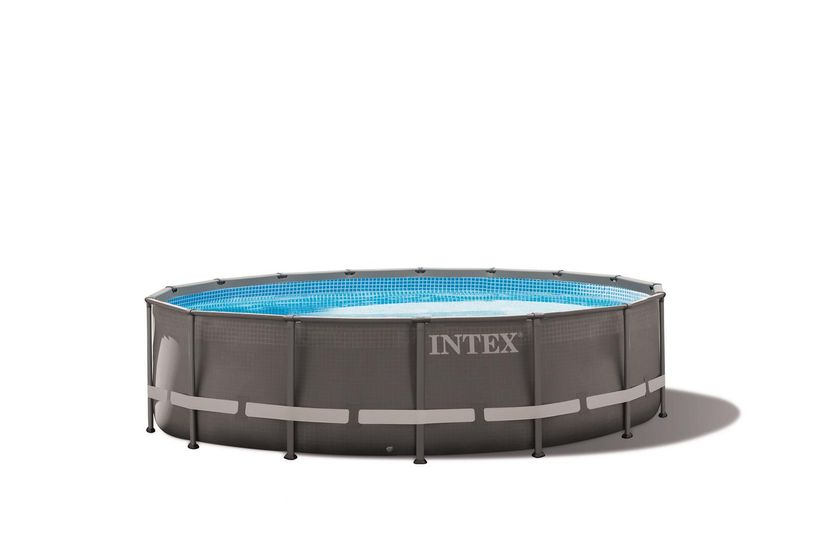 piscine intex ultra frame 4 27x1 22 filtre a sable cash piscines. Black Bedroom Furniture Sets. Home Design Ideas